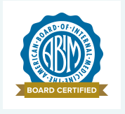 ABIM board certified logo
